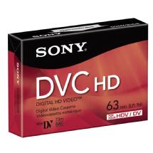 Sony DVM-63HD 63 Minute Mini DV HD Tape (3 Pack)