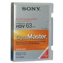 Sony DigitalMaster Mini (63 min. HDV, 41 min. DVCAM)