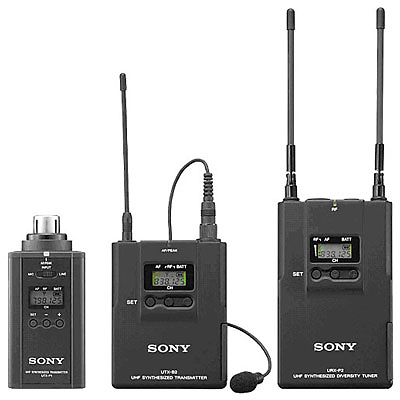 UWP-V6 Wireless Plug-in & Lavalier Microphone System (42/44 - 638 to 662MHz) Image 0