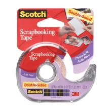 Scotch Scrapbooking Tape: 1/2 in. x 300 in. Roll