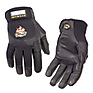 Pro Leather Gloves, Medium Black