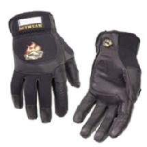 Setwear Pro Leather Gloves, Small Black