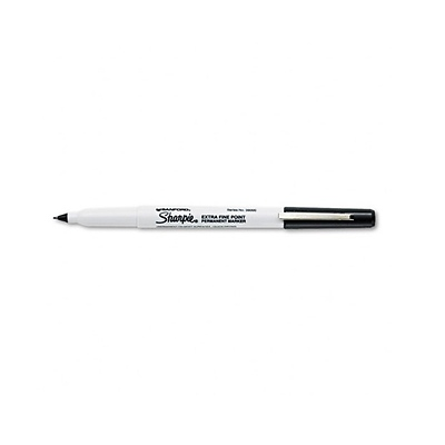 Extra Fine Point Permanent Markers - Black Image 0