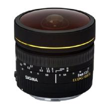 Sigma 8mm f/3.5 EX DG Circular Fisheye Auto Focus Lens for Nikon