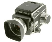 Rollei Rolleiflex SL66 6X6 Medium Format Camera W/ 80MM F/2.8 Lens (Used)