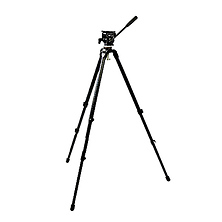 DST-1 Lightweight 2-Stage Tripod with Fluid Head Image 0