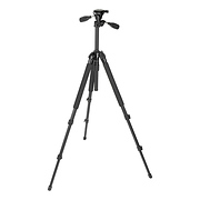 Pro 330DX Tripod (Black) with 3-Way Pan/Tilt Head (Quick Release)