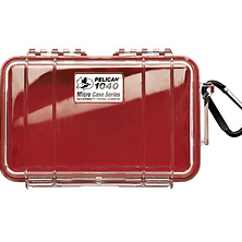 1040 Micro Hard Case (Clear Red) Image 0
