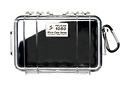 Pelican | 1050 Watertight Micro Hard Case (Clear Black) | PC1050CB