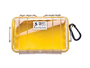 Pelican | 1050 Watertight Micro Hard Case (Clear Yellow) | PC1050CY