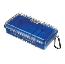 Pelican 1060 Watertight Micro Hard Case (Clear Blue)