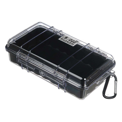 1060 Watertight Micro Hard Case (Clear Black) Image 0