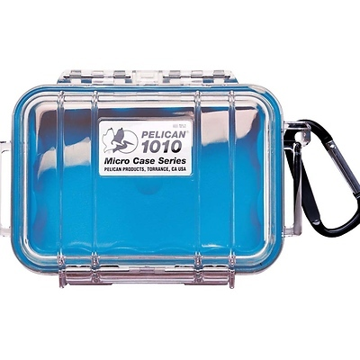 1010 Micro Case (Clear Blue) Image 0