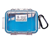 Pelican 1010 Micro Case (Clear Blue)