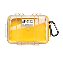 Pelican 1020 Micro Hard Case (Clear Yellow)