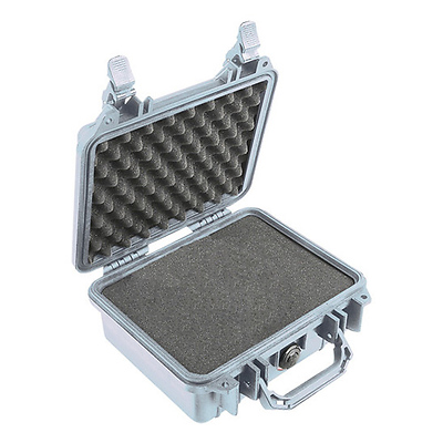 1200 Watertight Hard Case - Silver Image 0