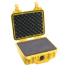 Pelican 1450 Medium Watertight Hard Case - Yellow