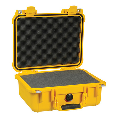 1400 Medium Watertight Hard Case - Yellow Image 0