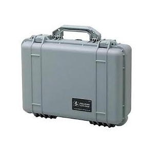 1550 Pro Watertight Hard Case - Silver Image 0