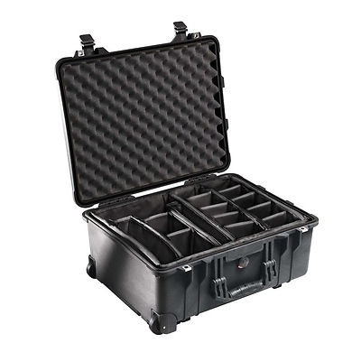 1564 Watertight 1560 Hard Case with Dividers (Black) Image 0