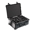 1564 Watertight 1560 Hard Case with Dividers (Black)