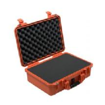 Pelican 1500 Watertight Hard Case with Foam Insert - Orange
