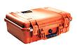 1500 Watertight Hard Case with Foam Insert - Orange