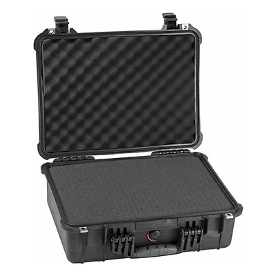 1520 Watertight Hard Case with Foam insert - Black Image 0