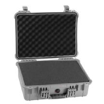 Pelican 1520 Watertight Hard Case with Foam insert - Silver