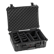 1520 Watertight Hard Case with Padded Dividers - Black Image 0