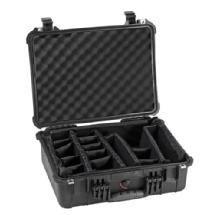 Pelican 1520 Watertight Hard Case with Padded Dividers - Black