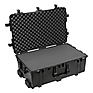 1650B Watertight Hard Case with Foam Inserts and Wheels - Black