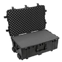 Pelican 1650B Watertight Hard Case with Foam Inserts and Wheels - Black