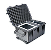 Pelican 1660 Watertight Jumbo Hard Case with Foam Inserts and Wheels - Black