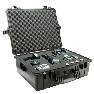 1600 Watertight King Hard Case - Black Image 0