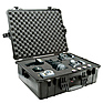 1600 Watertight King Hard Case - Black