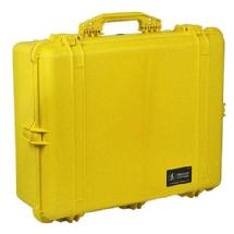 Pelican 1600 Watertight Hard Case with Foam insert - Yellow