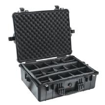 Pelican 1600B Watertight King Hard Case with Padded Dividers - Black