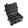 1614 Waterproof 1610 Case with Dividers (Black)