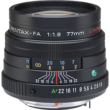 SMCP-FA 77mm f/1.8 Limited Series Autofocus Lens (Black) Image 0