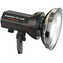 StudioMax III AKC320B AC/DC 320ws Monolight with Reflector Image 0