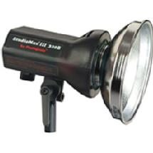 Photogenic StudioMax III AKC320B AC/DC 320ws Monolight with Reflector