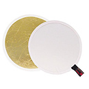 White/Gold Reversible LiteDisc 12 in.