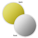 Silver/Gold Reversible LiteDisc 12 in.