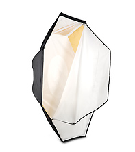 Octodome3 Large 7' Softbox  with Silver / Gold Reversable Insert Panels Image 0