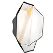 Octodome3 Large 7' Softbox  with Silver / Gold Reversable Insert Panels
