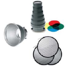 Photoflex StarFlash Accessory Kit With Snoot, Grids and Reflector