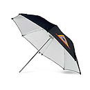 ADW Adjustable White 45 in. Umbrella
