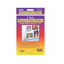 4 x 6 Photo Albums Plastic Magnetic Photo Holder Image 0