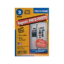Pioneer Freez-A-Frame Magnetic 2-1/2 x 3-1/2 inch Photo Frame (2 Pack)